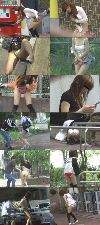 THE・スカート強盗 2 スカートを盗まれた哀れな女