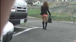 スカート強盗