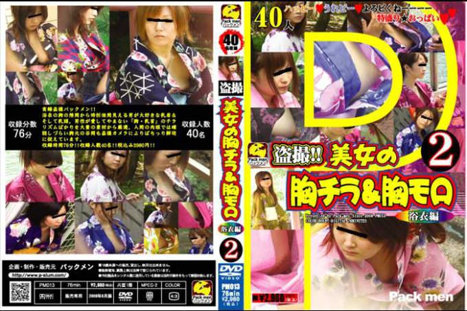 盗撮!!美女の胸チラ&胸モロ(2) 浴衣編