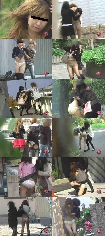 襲撃シリーズ女が女を!!スカートめくり!!