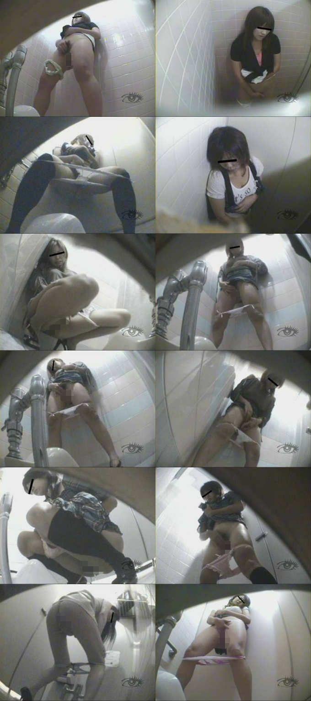 手撮り隠撮 公衆トイレ濡れオナニー