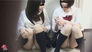 隠撮 女子校生清純パンツ2